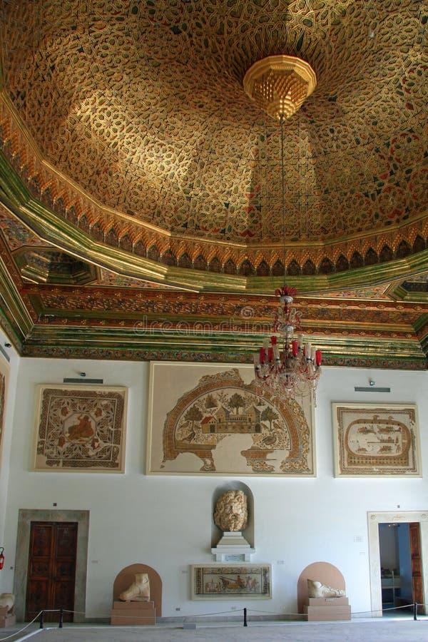 Внутри музея Bardo стоковое изображение rf