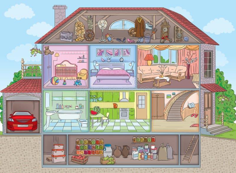 сделана картинка трех этажного дома срисовать с комнатами надо сердиться