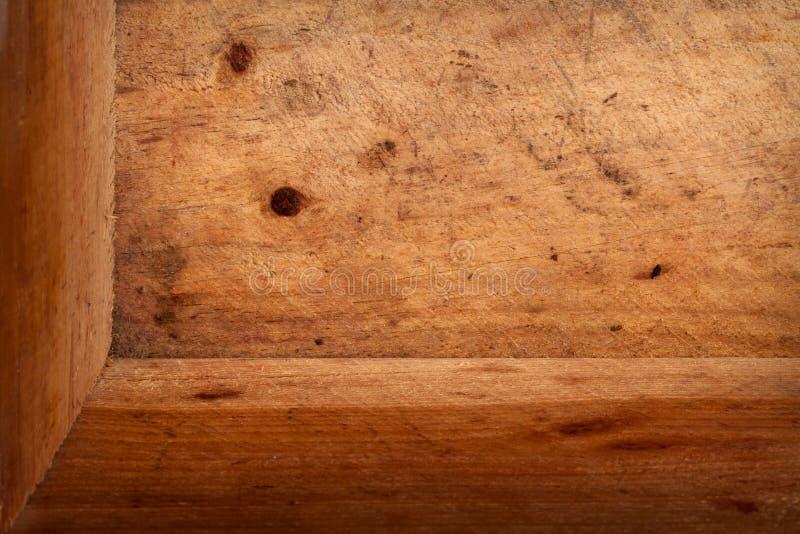 Внутри старого деревянного случая, трехмерного стоковое изображение rf