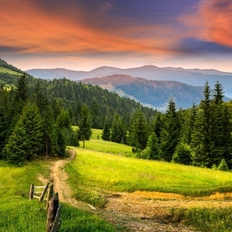 Внушительная гора стоковое фото