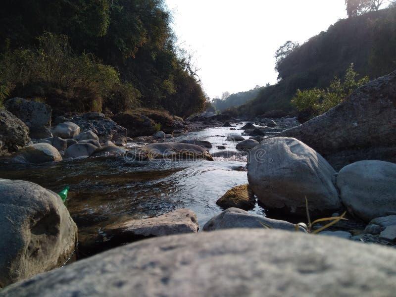 Внушительный взгляд реки стоковая фотография rf