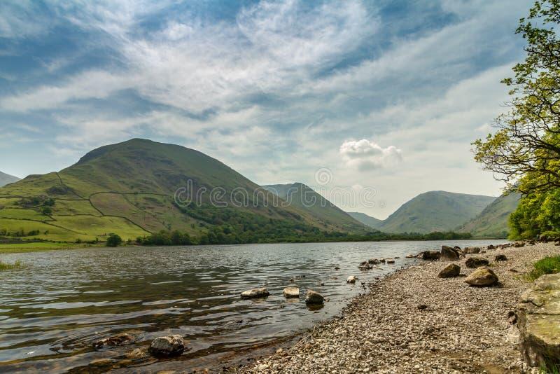 Вода братьев, национальный парк района озера стоковые фотографии rf