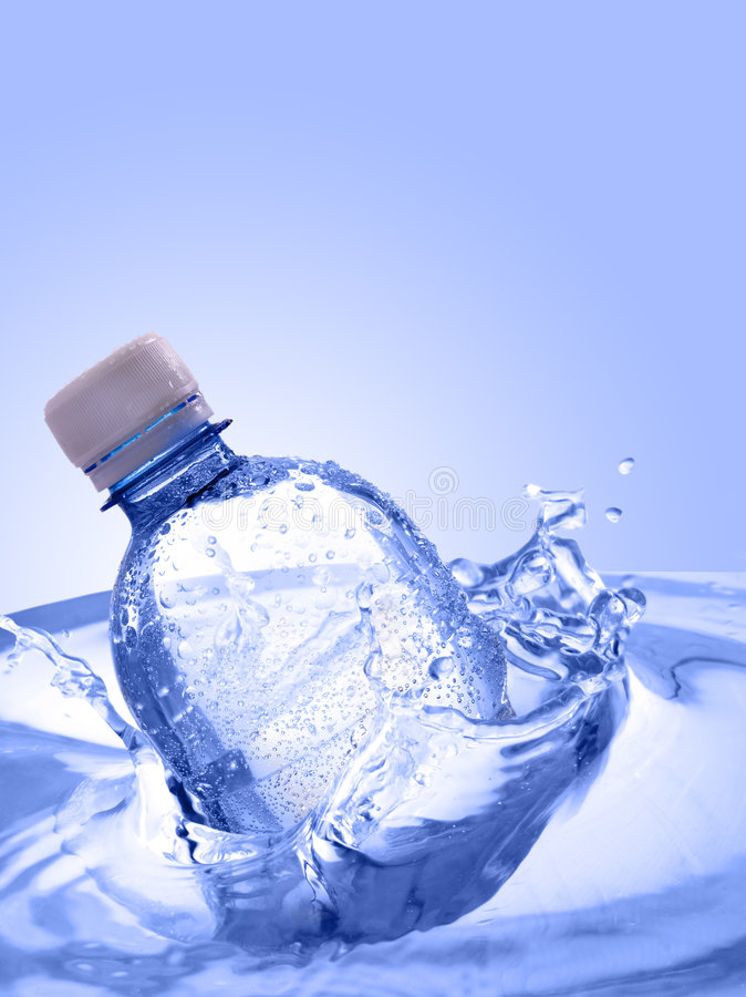 вода бутылки стоковое изображение
