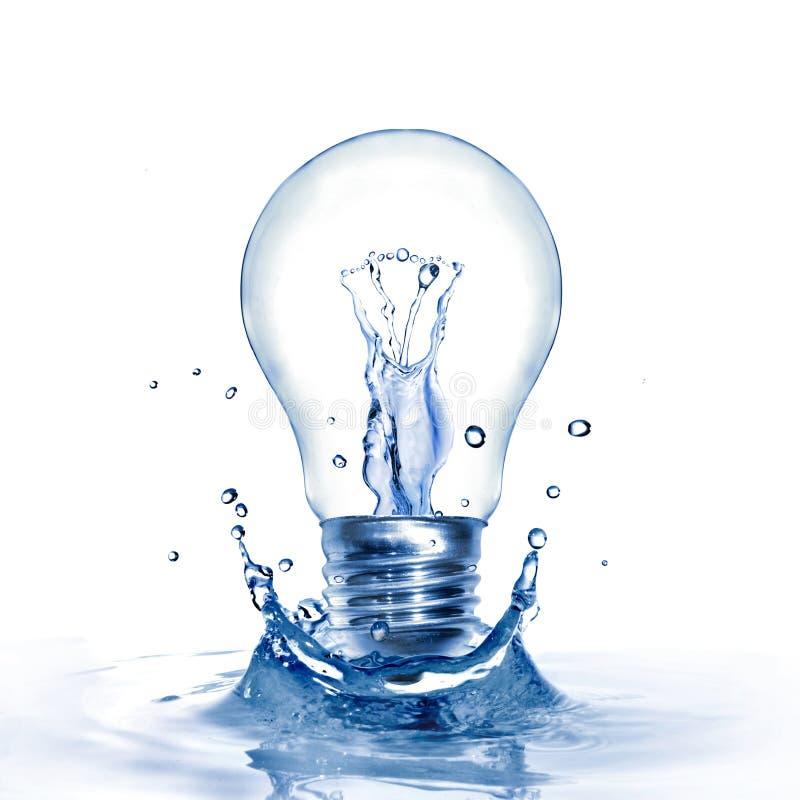 вода выплеска света шарика стоковые изображения