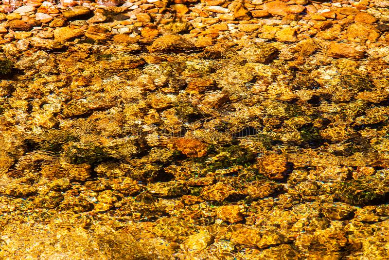 Вода в национальном парке Krkonose стоковое фото rf