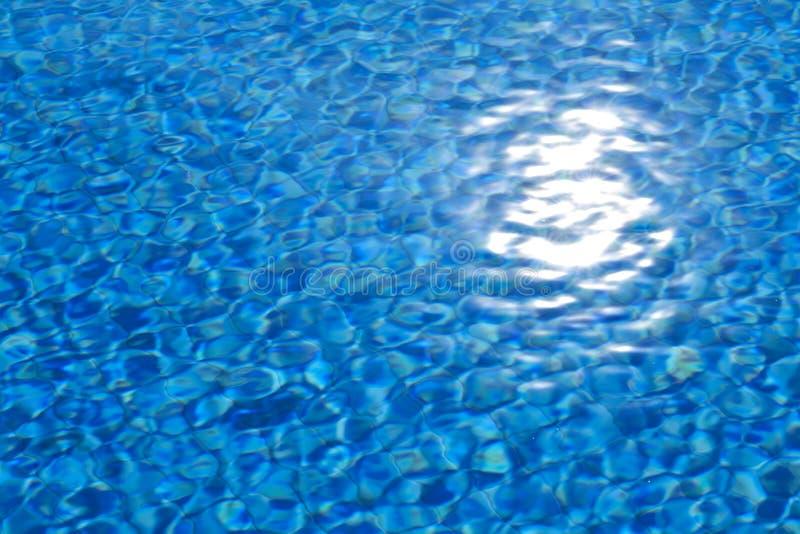 Вода в предпосылке бассейна стоковое фото rf
