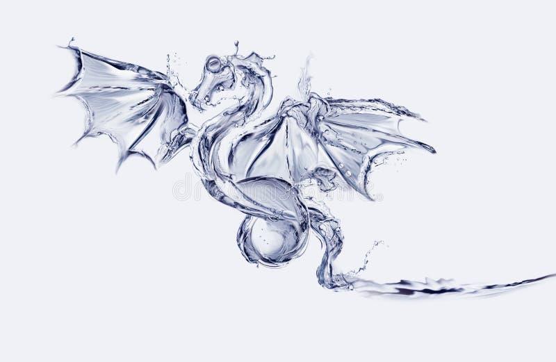 вода дракона стоковое изображение