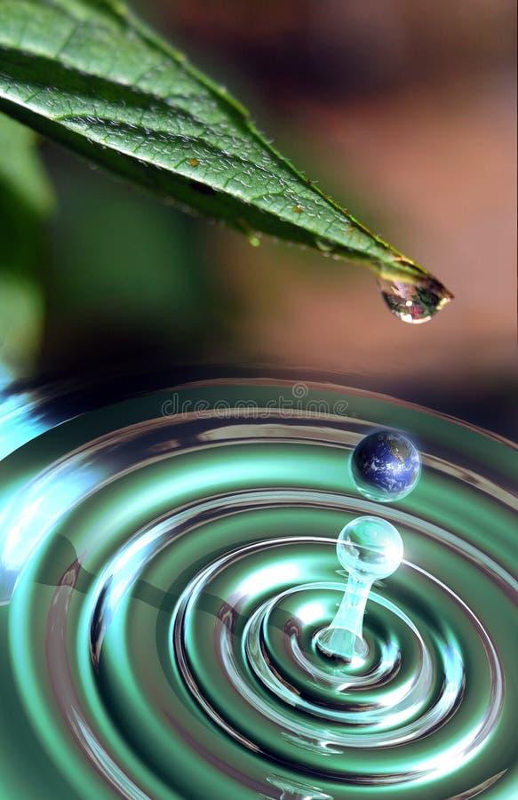вода жизни иллюстрация вектора