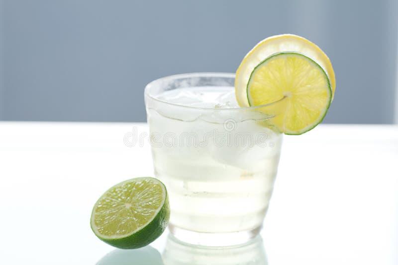 вода известки лимона стоковое фото