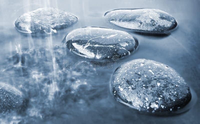 вода камней стоковое изображение