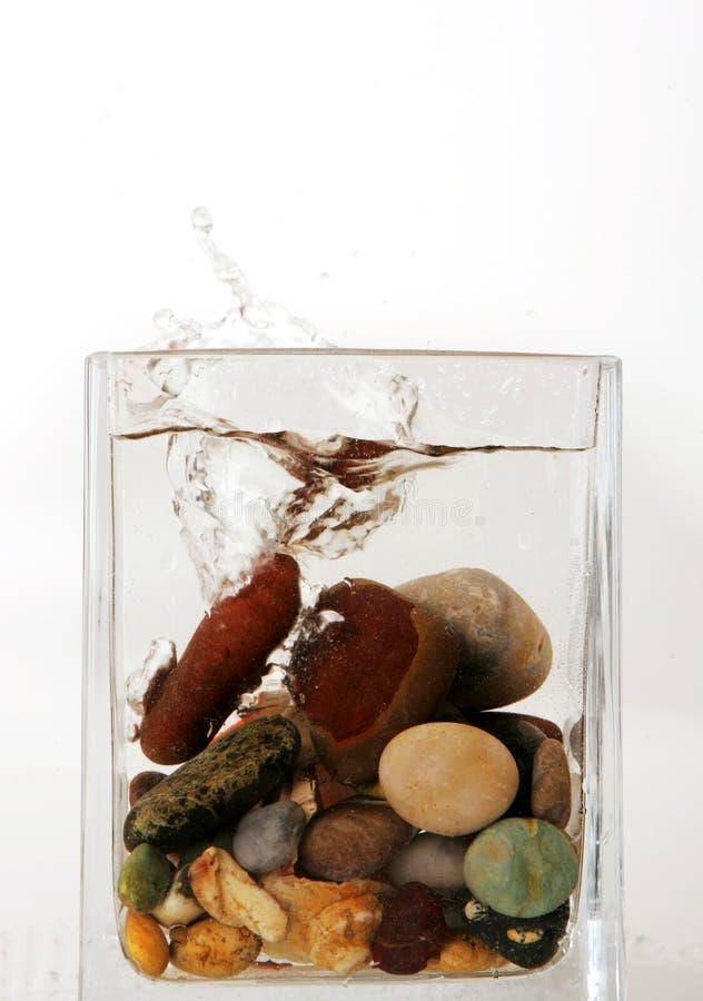 вода камней Стоковые Фото