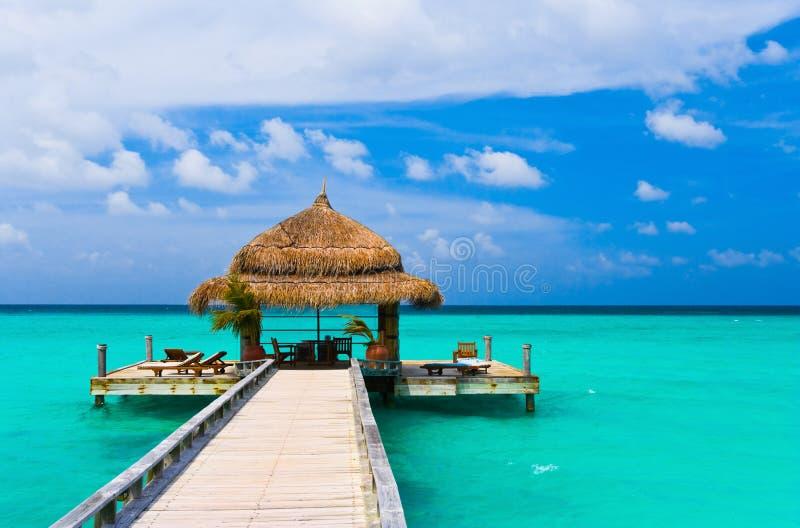 вода кафа пляжа стоковые фотографии rf