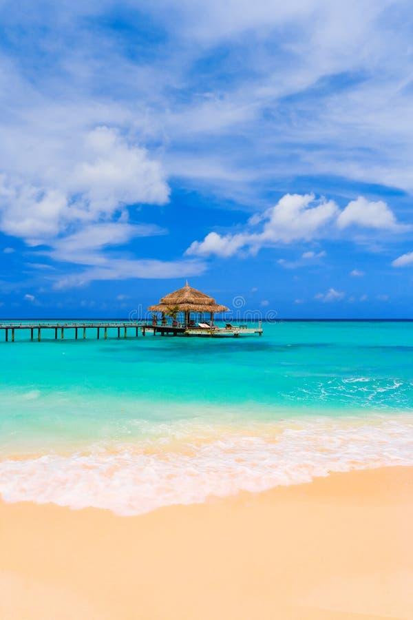 вода кафа пляжа стоковое изображение rf