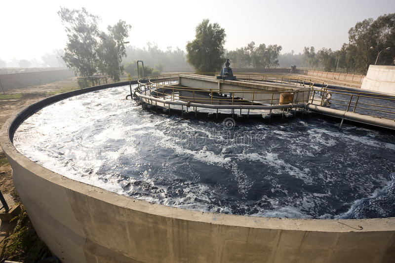 Download вода обработки завода стоковое фото. изображение насчитывающей очиститель - 17603190
