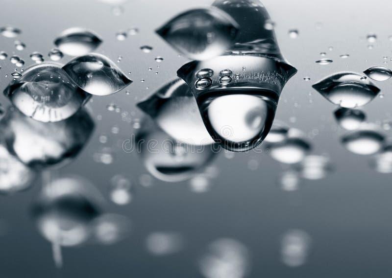 вода падений стоковое изображение rf