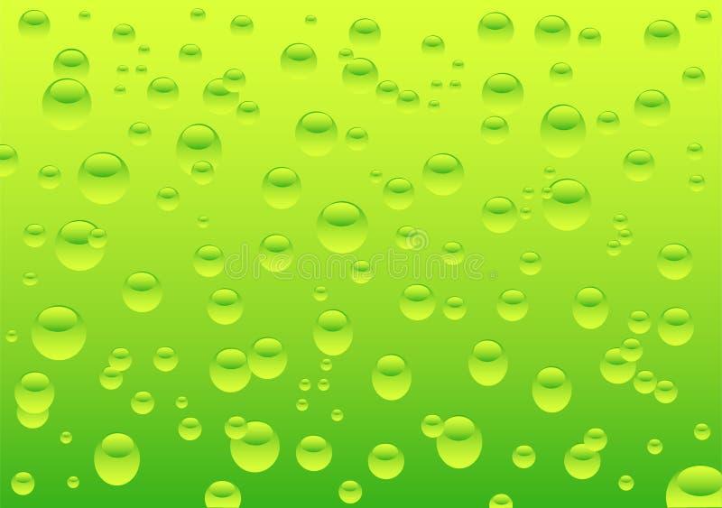 вода падений иллюстрация штока