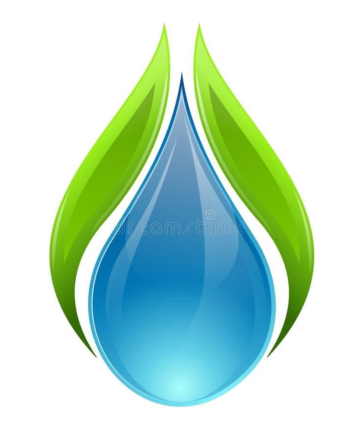 вода природы принципиальной схемы иллюстрация вектора
