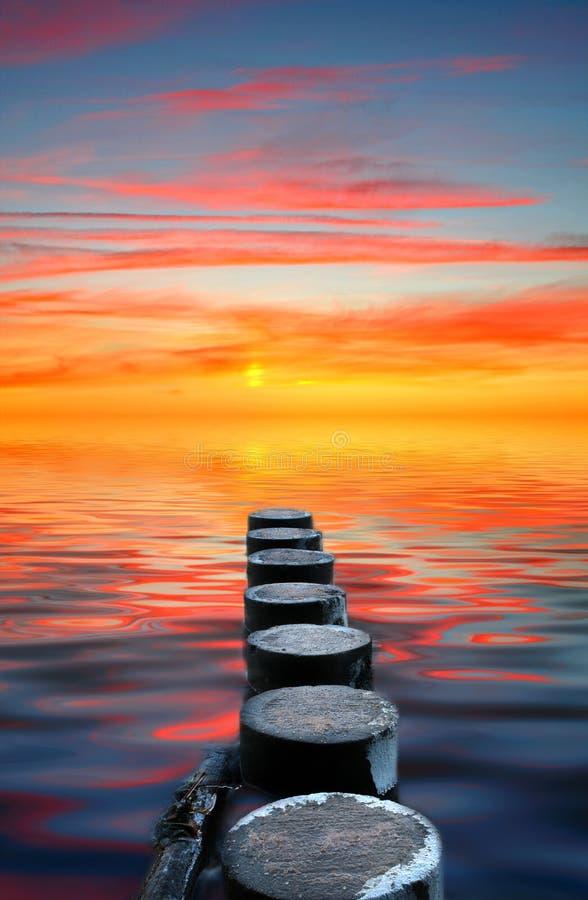 вода прогулки стоковая фотография