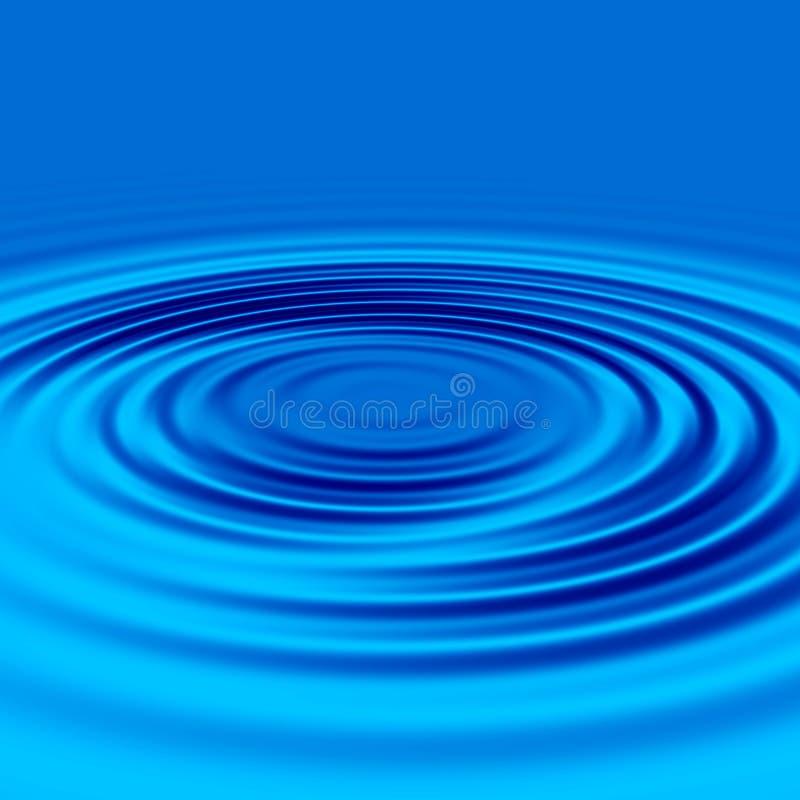 вода пульсаций иллюстрация вектора