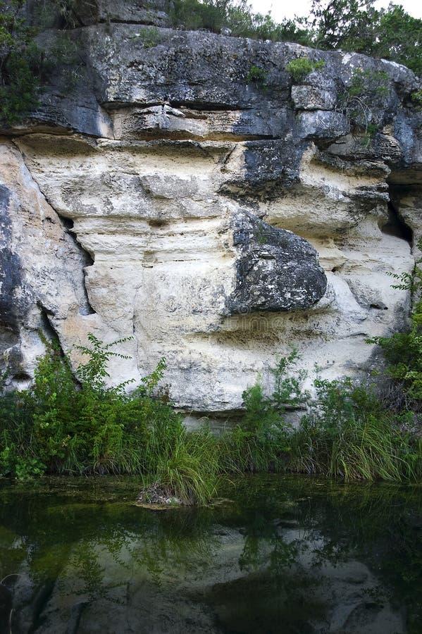 вода скалы стоковые изображения rf