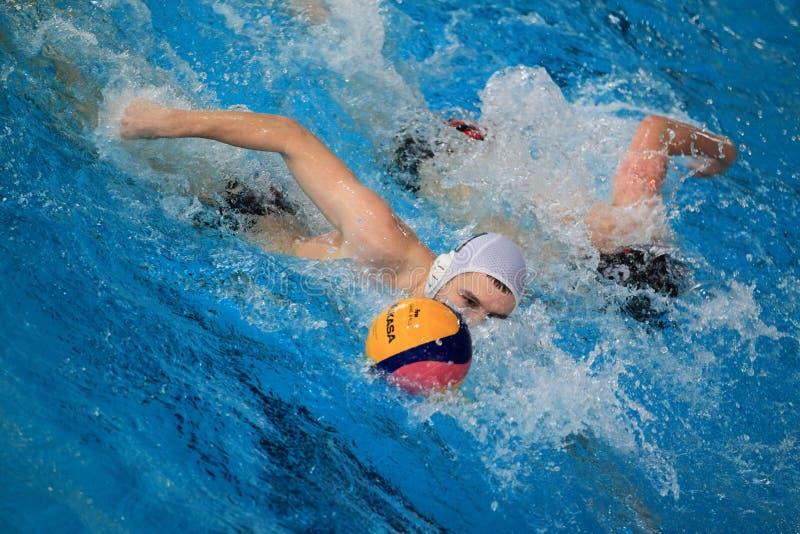 вода скорости гонки поло стоковое изображение