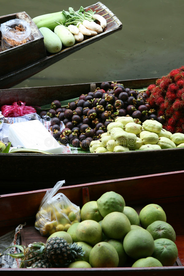 вода Таиланда рынка стоковое изображение