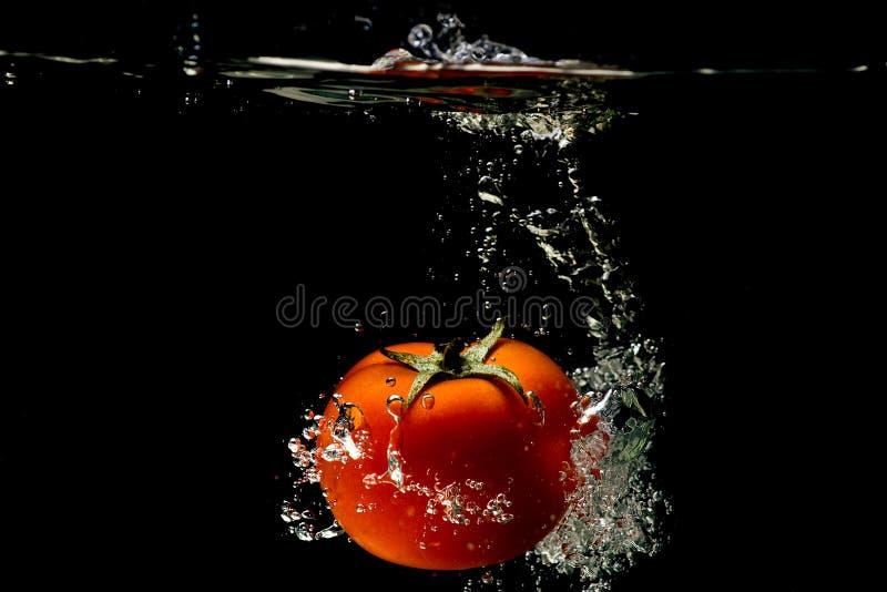 вода томата выплеска стоковое фото rf