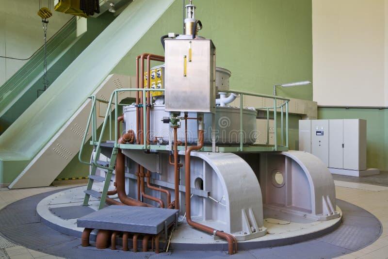 вода турбины генератора стоковое изображение rf