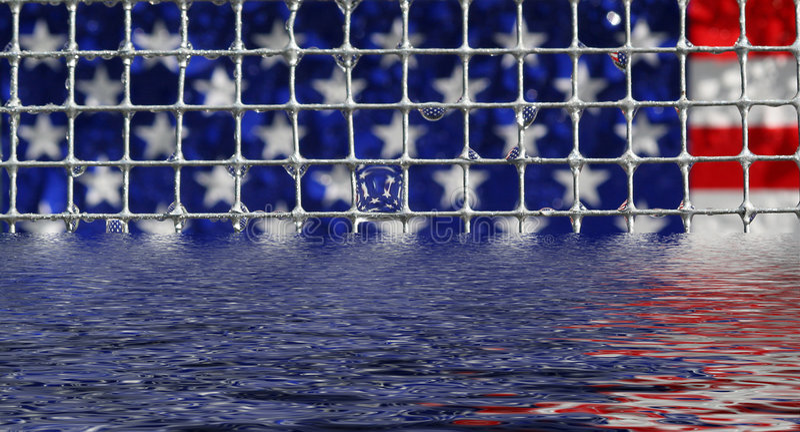 вода флага стоковая фотография rf