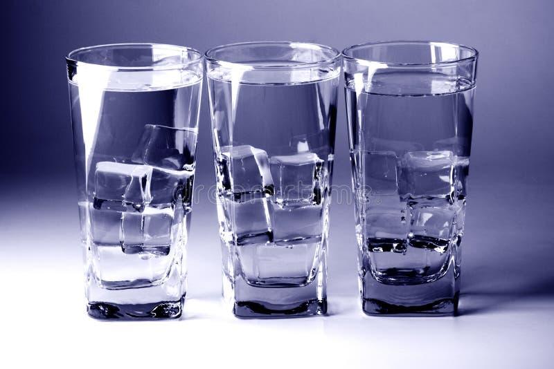 вода холодных стекел стоковые фотографии rf