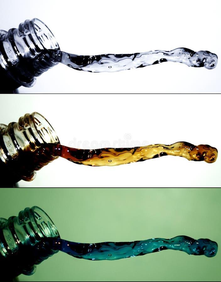вода 4 выплесков Стоковые Фотографии RF