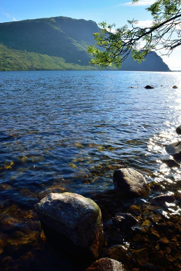 Вода Ennerdale стоковые изображения rf