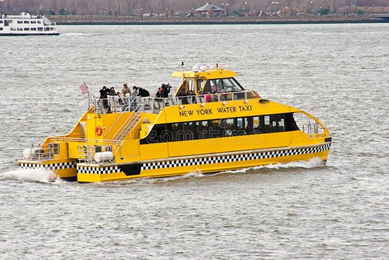 вода york таксомотора города новая стоковое изображение