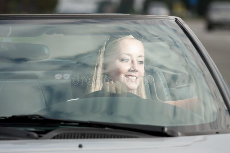 водитель счастливый стоковые изображения