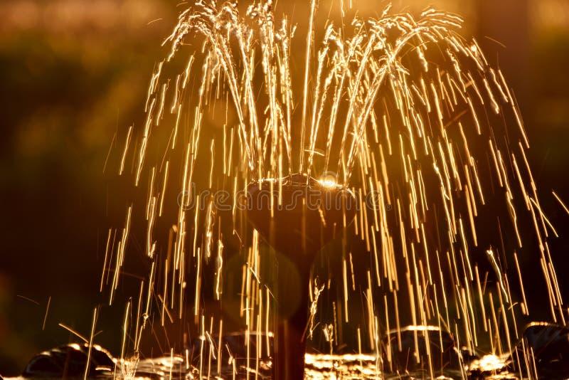 Водный фонтан стоковая фотография
