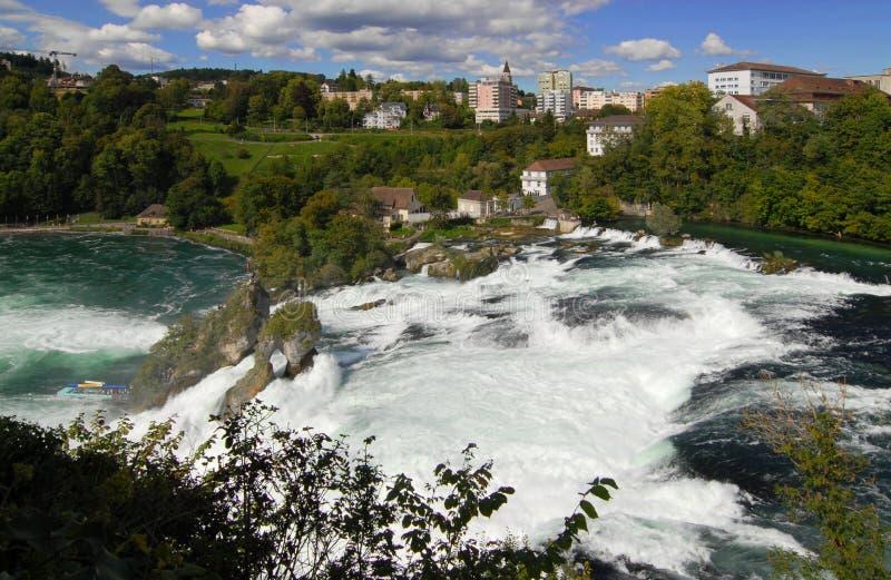 водопады европы самые большие s стоковое изображение
