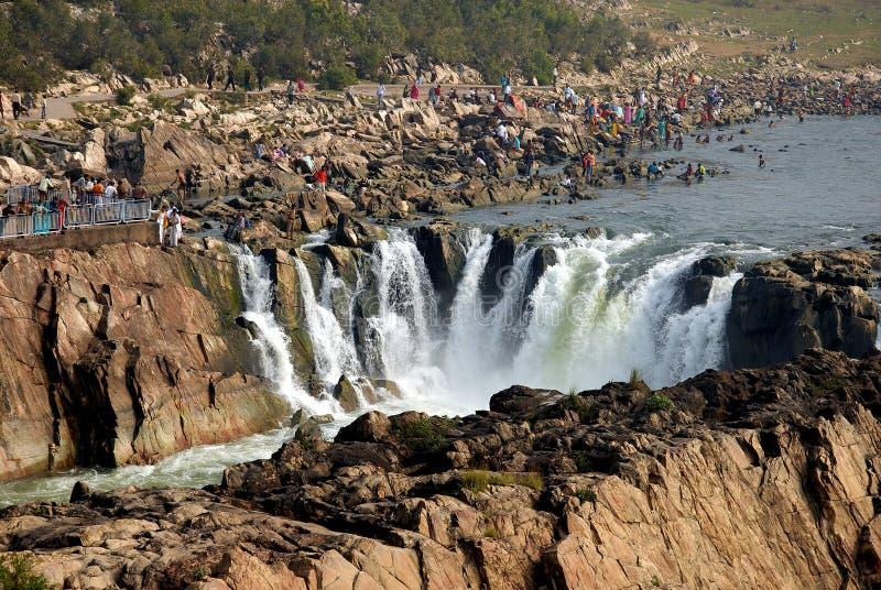 водопады Индии стоковое изображение rf