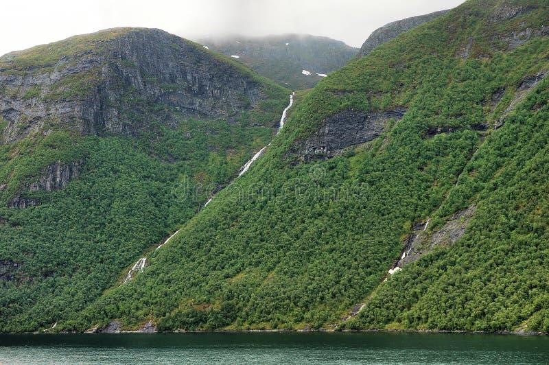 водопады стоковые фото