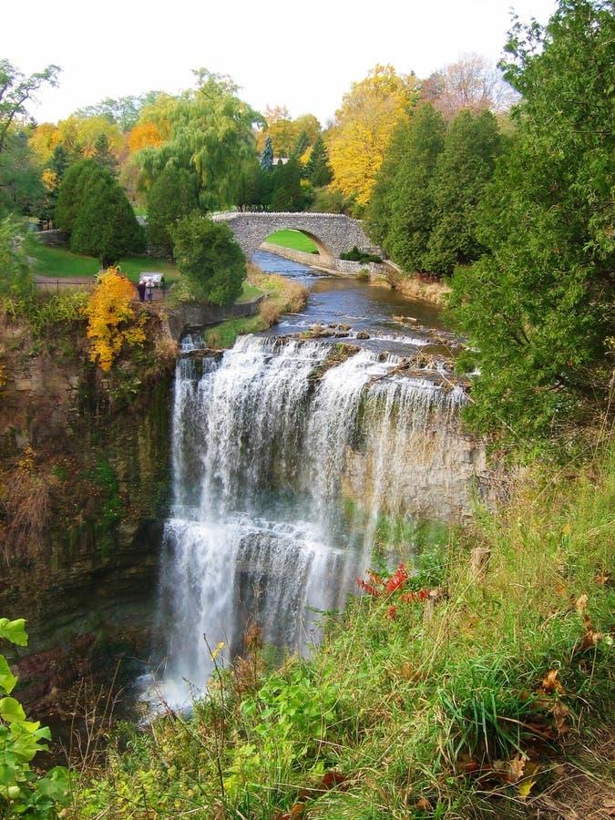 водопады стоковое изображение rf