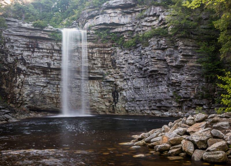 Водопады Awosting стоковые фотографии rf