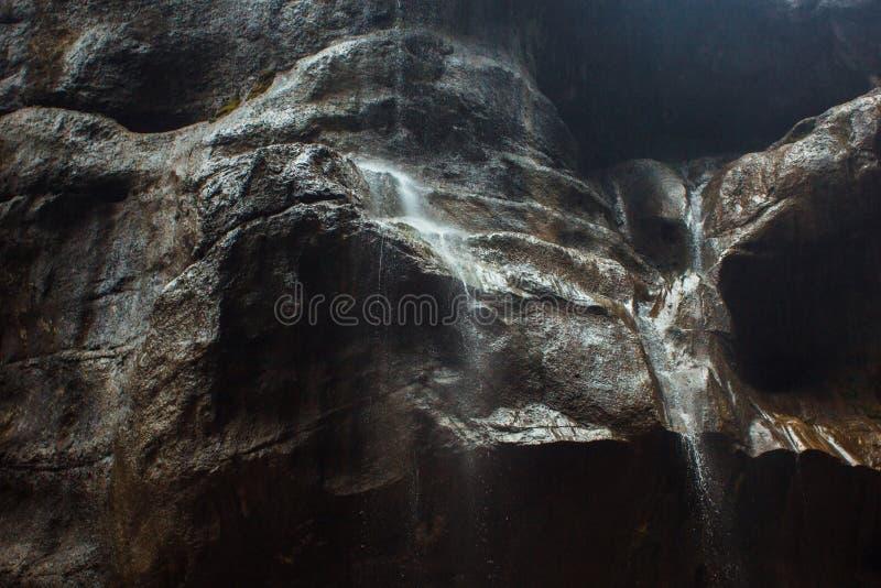 Водопады Chegem стоковые фотографии rf
