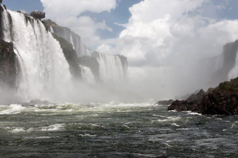 водопады iguassu стоковое фото rf