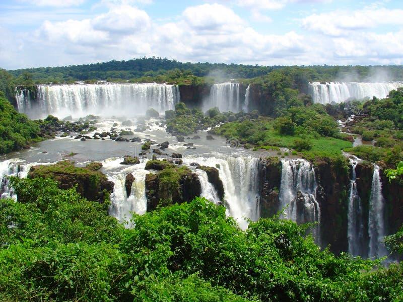 водопады iguazu стоковая фотография