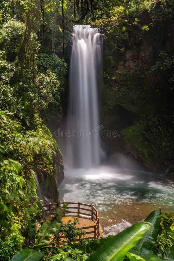 Водопады Paz Ла стоковое изображение rf