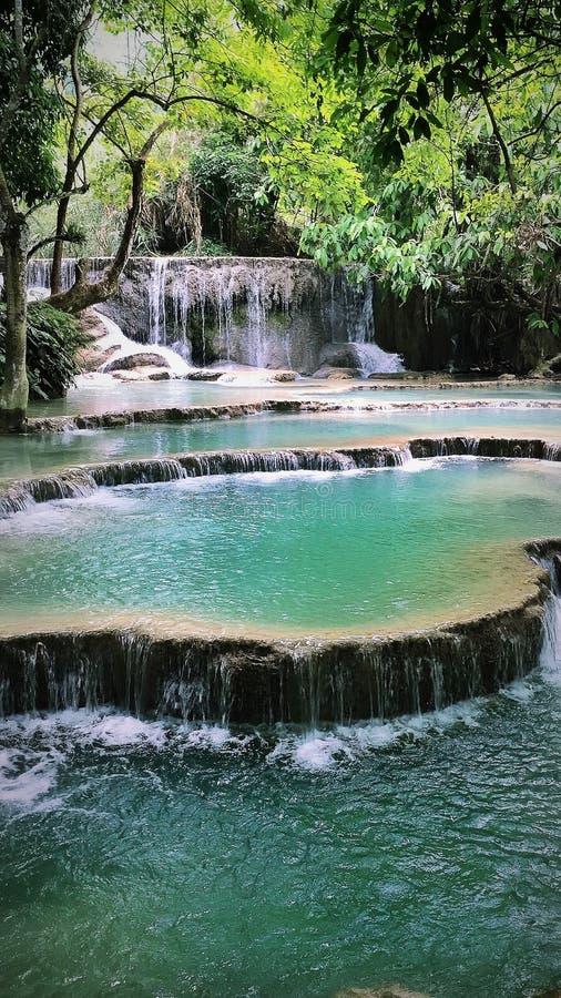 водопады si kuang стоковые изображения rf