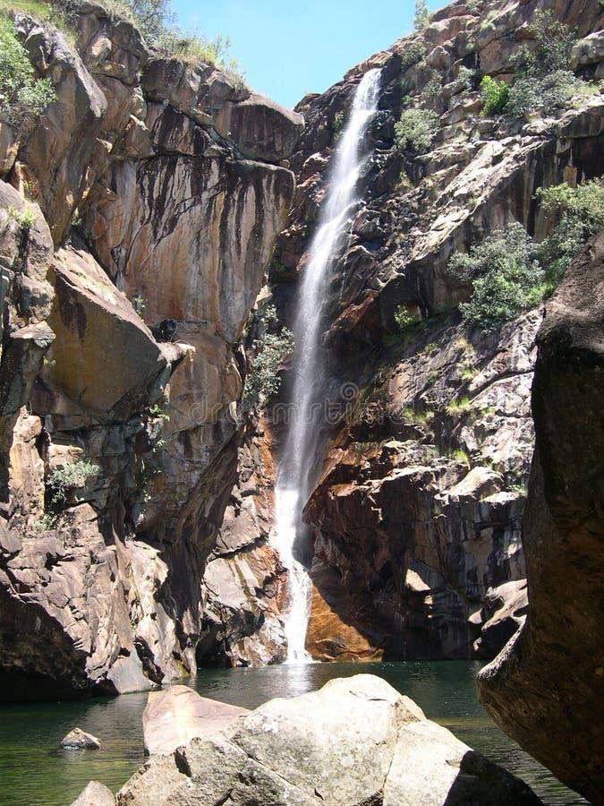 водопад Австралии стоковые изображения
