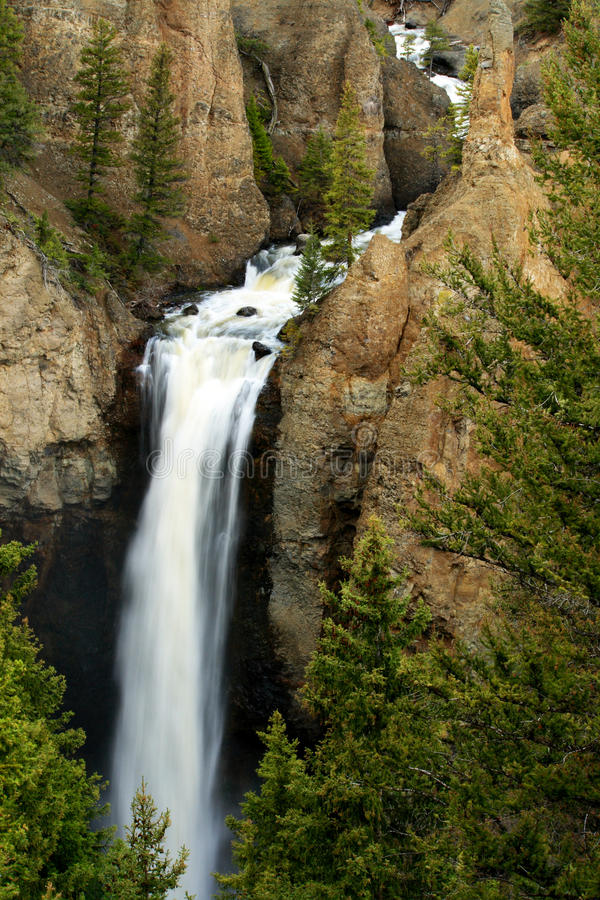 водопад башни падений стоковая фотография