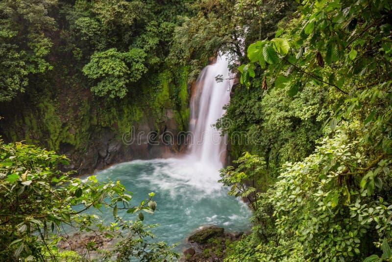 Водопад в Коста-Рика стоковое изображение