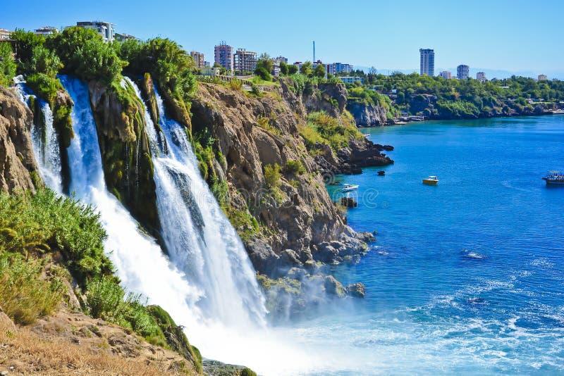 Водопад в Турции стоковое фото rf