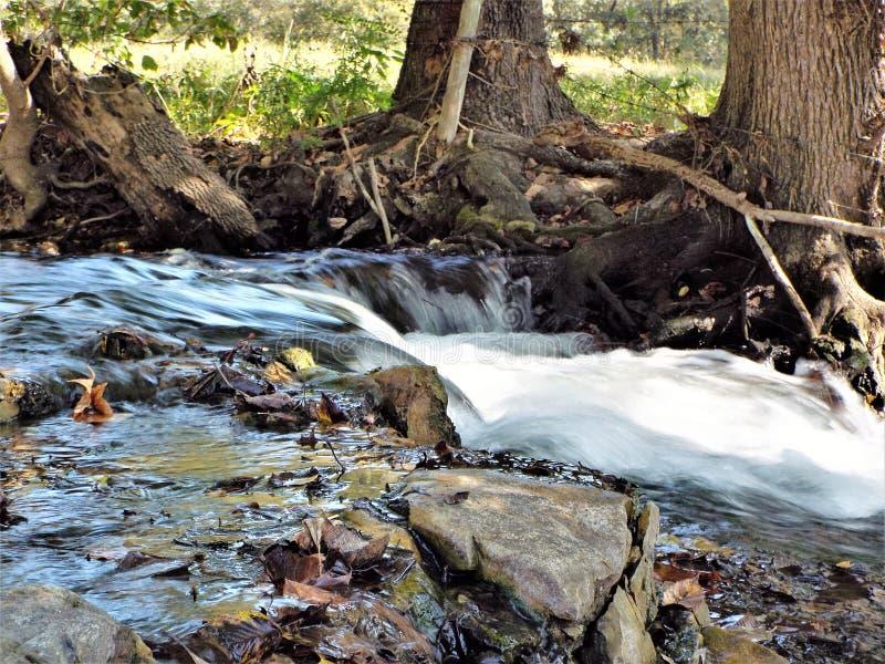 Водопад долгой выдержки стоковое изображение rf